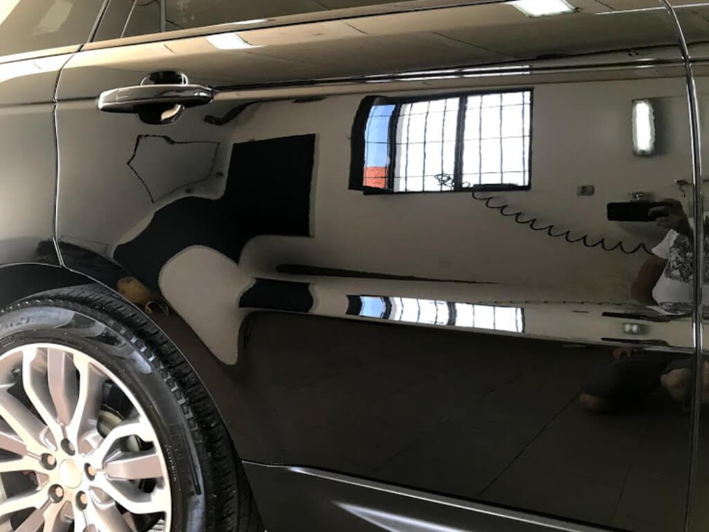 renovace laku automobilu - po renovaci